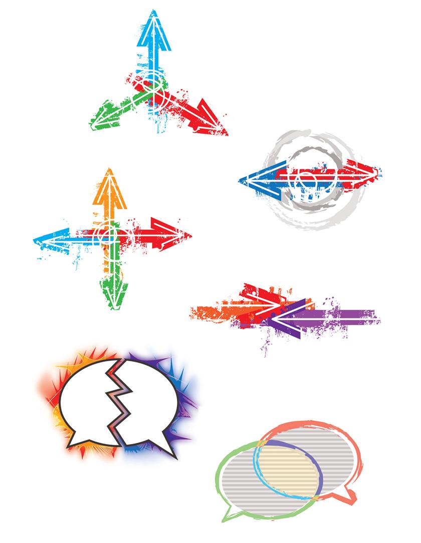 Graphic Design Illustration Branding Concepts